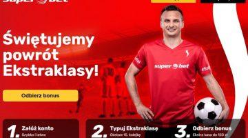 Bonusy na Ekstraklasę u bukmacherów 1 Jakobstawiac.pl - centrum obstawiania • Kwiecień 2021